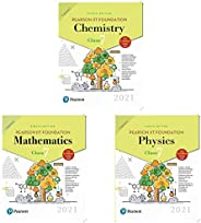 Pearson IIT Foundation Physics Class 7 by Pearson ,Pearson IIT Foundation Mathematics Class 7 and Pearson IIT