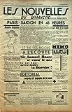 Telecharger Livres NOUVELLES LES N 15 du 15 12 1935 PARIS SAIGON EN 48 HEURES SOMMAIRE CINEMA TSF L AIR LE PRESIDENT DOUMER A SAIGON LE BAL DES BIGORS PETITES NOUVELLES DU DIMANCHE RADIOS LES COURSES SPORTS UN CONTE RADIOS LE BAL DES BIGORS A L ECOUTE SIR SAMUEL HOARE SE CASSE LE NEZ LE RAS BOIT APRES LES BOMBES LA BOMBE EDITORIAL NOEL ET JOUR DE L AN HEURES LES POTINS DE LA BEGUM PAR L AGHA KHAN KHAN MEMO SPECTACLE (PDF,EPUB,MOBI) gratuits en Francaise