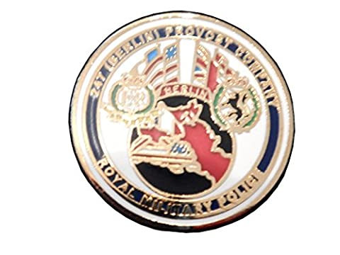 247 Berlin RMP Provost Guard Lapel Badge Royal Military Police