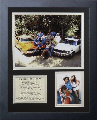 Gerahmtes Fotocollage Die Dukes of Hazzard II, 28 x 36 cm
