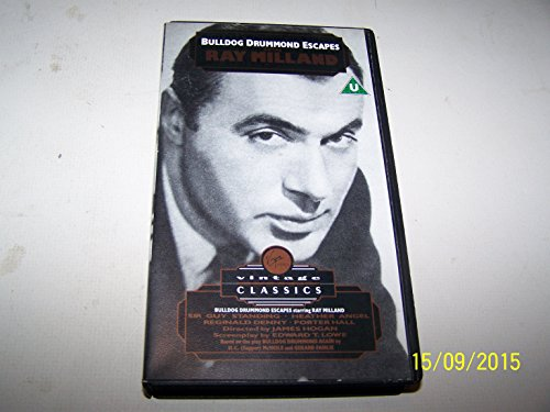 Preisvergleich Produktbild Bulldog Drummond Escapes [VHS] [UK Import]