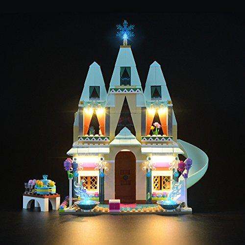 LIGHTAILING Conjunto de Luces (Celebración En El Castillo De Arendelle) Modelo de Construcción de Bloques - Kit de luz LED Compatible con Lego 41068 (NO Incluido en el Modelo)