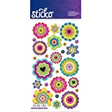 Sticko Stickers-Graphic Flowers