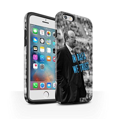 Officiel Newcastle United FC Coque / Brillant Robuste Antichoc Etui pour Apple iPhone 6+/Plus 5.5 / Pack 8pcs Design / NUFC Rafa Benítez Collection Nous Avons Confiance