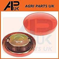 APUK Fuel Tank Cap Compatible with John Deere 1040 1140 1640 1840 1950 2040 3130 3140 3650 Tractor