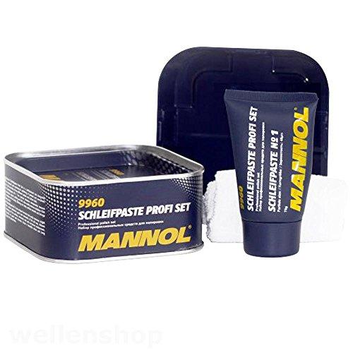 MANNOL KFZ Boot Schleifpaste Polierpaste Chrompolitur 400g (Lackierer Maschine)