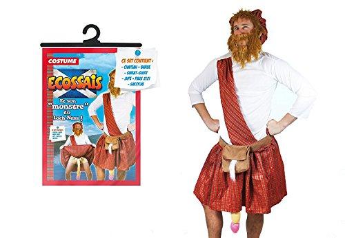 SDT Kostüm Erwachsene Die schottischen Coquin Einheitsgröße (Schottische Kostüm Für Erwachsene)