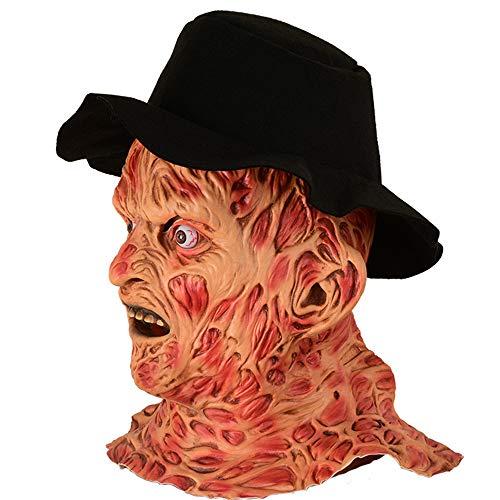 Dobby Kinder Kostüm - ZGY Halloween Horror Maske, Latex Halloween Grusel Party Bar Kammerhaus Spukhaus Requisiten