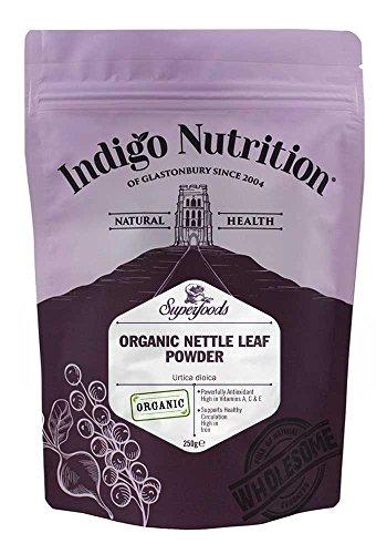 Indigo Herbs Ortica organica Foglie in polvere 250g