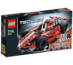 LEGO Technics - Race Car - 42011 42011 (The super-fast, super-sleek, super-cool Race Car is the perfect introduction to the exciting world of LEGO® Technic… )