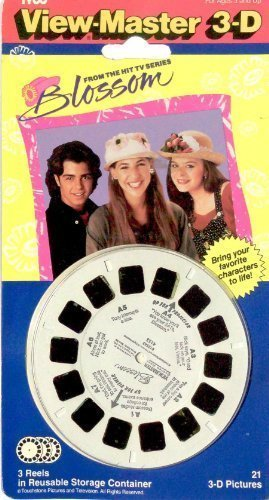 tyco-view-master-3-d-from-the-hit-tv-series-blossom-3-reels-with-21-3-d-pictures-by-view-master
