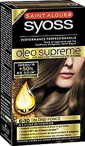 Syoss Saint Algue Oléo Suprême Coloration Permanente 6-10 Blond foncé