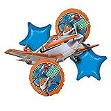 Amscan 2895701 Disney Folienballonset Planes, 5-teilig, Siehe Abbildung