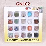 ChaRLes AU Natürliche Edelsteine ??Steine ??Variety Collection Crystals Kit Mineralische geologische Unterrichtsmaterialien - Nr. 1