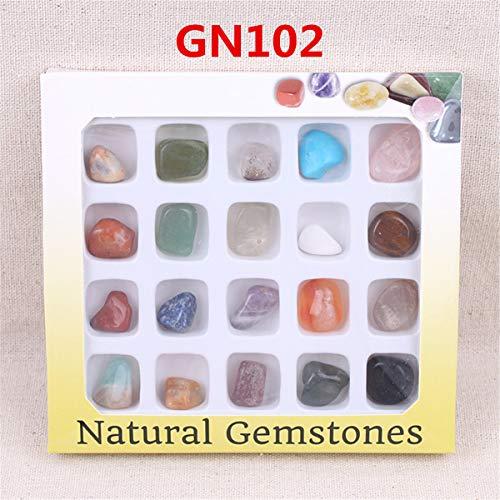 ChaRLes Piedras Preciosas Naturales Del Au Piedra Variedad Colección Cristales Kit Minerales Geológicos Materiales Didácticos - #1