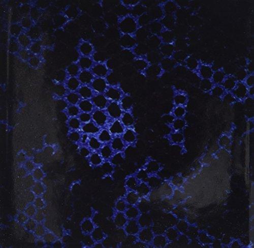 Schlange-haut-design (Rikki Knight Blau Python Schlange Haut Design Art Keramik Fliesen, 4von 4-Zoll)