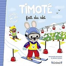 Timoté fait du ski