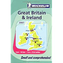 Atlas Great Britain & Ireland (Mini-Spiral) Michel (Michelin Great Britain & Ireland Atlas)