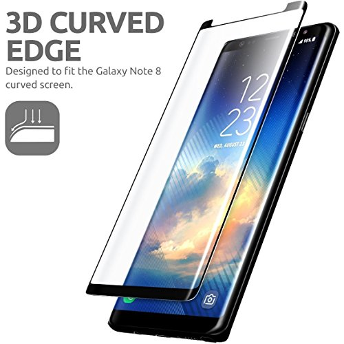 Blaspheme™ 3D Tempered Glass Screen Protector for Samsung Galaxy Note 8 (Black Edition)