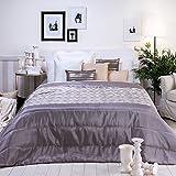 Sancarlos - Edredón conforter online rhombus azul - densidad 250 g. - Fibra hueca siliconada - esquinas redondeadas