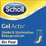 Scholl GelActiv Einlegesohle für Sie, Stiefel und Stiefeletten