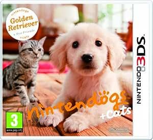Nintendogs + Cats - Golden Retriever + New Friends (Nintendo 3DS)