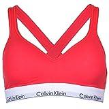 Calvin Klein Damen Klassischer BH rot rot Gr. XS, rot