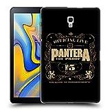 Head Case Designs Offizielle Pantera 101 Proof Kunst Ruckseite Hülle für Samsung Galaxy Tab A 10.5 (2018)