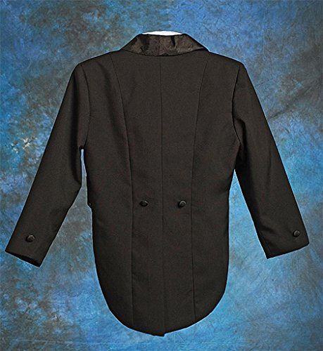 Lito Angels Boys' 5 Pcs Set Formal Tuxedo Suit With Tail Pageboy Suits Baptism Christening Outfit
