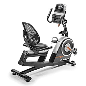 51ah2yQfluL. SS300  - Nordic Track Unisex's Commercial VR21 Recumbent Exercise Bike Excercise, Black, adults