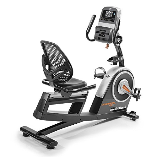51ah2yQfluL. SS500  - Nordic Track Unisex's Commercial VR21 Recumbent Exercise Bike Excercise, Black, adults