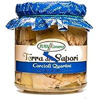 Puma Conserve - Corazones de alcachofas en trozos en aceite de oliva 280gr