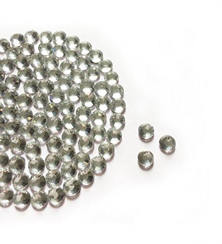 Diamante Me Crystal Clear DMC Strass en verre (Hotifx/Iron on) Lot de 500, claire, 3 mm