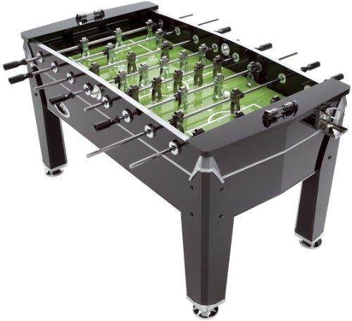 Mightymast Leisure 5ft VIPER Professional Table Football Foosball - Black   Chrome