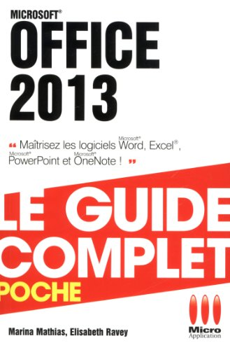 COMPLET POCHE OFFICE 2013