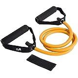 Reehut Resistance Fitness Bands Toning Tube Übungsbänder Resistance Loop für Yoga, Pilates, Rehabilitation Sport Physio-Gymnastik - für Männer & Frauen - aus Naturlatex