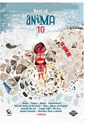Best of Animation 10 (12 Films) ( Balls (Boles) / Futon / Wind / Somewhere / Marcel, King of Tervuren / Mia / The Mist Is Coming In (R?ves de brume) / Around the Lake (Autour du lac) / Cargo Cult by Katja Levstik - Beste Futon