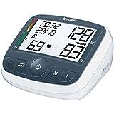 Beurer BM40 - Tensiómetro de brazo con adaptador, indicador OMS, memoria 2 x 60