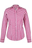 Almsach Damen Trachten-Bluse pink-weiß kariert 'Maria', pink, 44