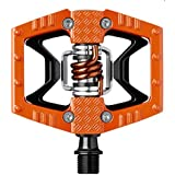 Pedales Crank Brothers PEDAL Plataforma y Automático Double Shot Naranja 395g