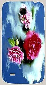 Attractive multicolor printed protective REBEL mobile back cover for Samsung I9190 Galaxy S4 mini D.No.N-R-2590-S4M