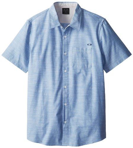 Oxford Woven Oxford-hemd (Oakley Herren Hemd Uniform Woven S Oxford Blue)