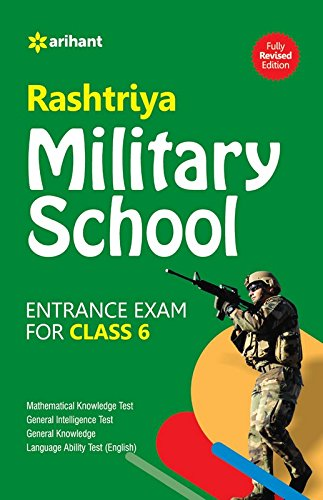 Rashtriya Military School Entrance Exam for Class 6
