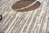 Teppich Modern Flachgewebe Gel Läufer Küchenteppich Küchenläufer Braun Beige Schwarz mit Schriftzug Coffee Cappuccino Espresso Latte Größe 80 x 300 cm - 6