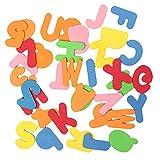 36Pcs Bébé Instruction Lettres & Nombres Sécurité EVA Éducatif Salle de Bains Jouets Classiques