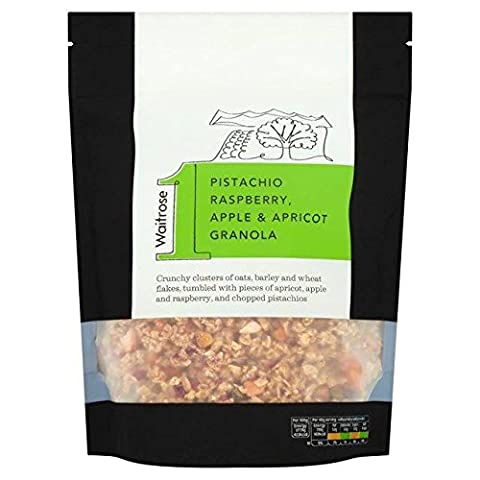 Waitrose Granola Apricot Pistachio Raspberry & Apple 500g