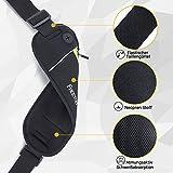 [Sport Hüfttasche] FREETOO Gürteltasche flache Bauchtasche mit Kopfhöreranlass passt alle Handys unter 5,5 Zoll MUST HAVE Accessoire für Damen und Herren auf Sport und Outdoor Aktivitäten anwenden - 3