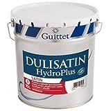 DULISATIN HYDROPLUS - GUITTET - Peinture satinée garnissante Blanc - Satiné 15.00Litre