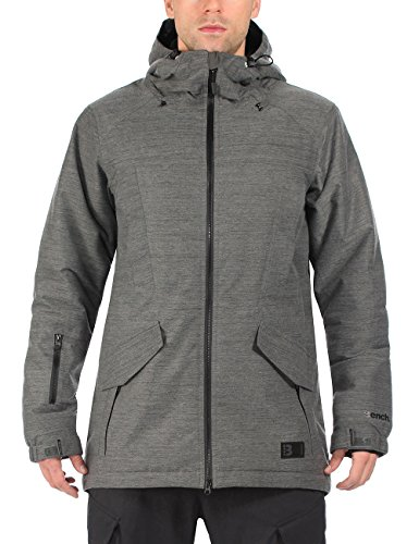Bench Herren Funktionsjacke Stepspeed, Dark Shadow, M, BMKF0081