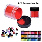 Diadia Beauty Acrylic Nail Art Tips UV Gel Powder Dust Design Decoration 3D